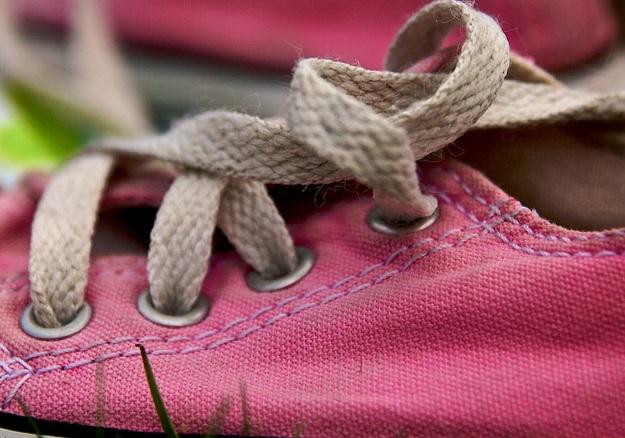 Buty dla dzieci z żółtą podeszwą