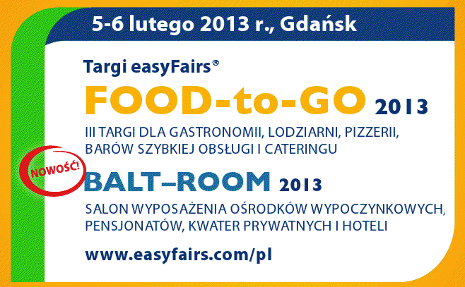 FOOD TO GO 2013