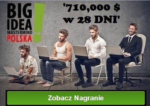 Big Idea Mastermaind 710000 zobacz nagranie