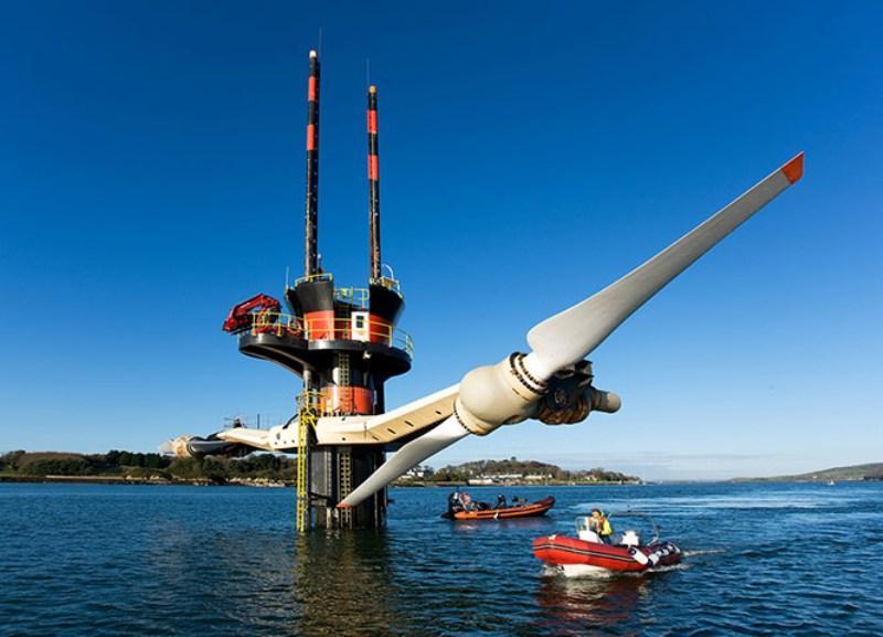 elektrownia morska na wodzie