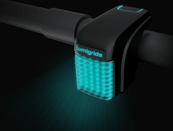 lasery siatki na rower