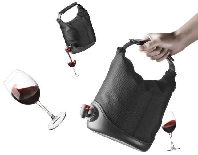torba na wino z kurkiem