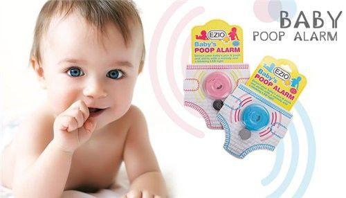 Baby Poop Alarm czyli urządzenie z alarmem na kupę