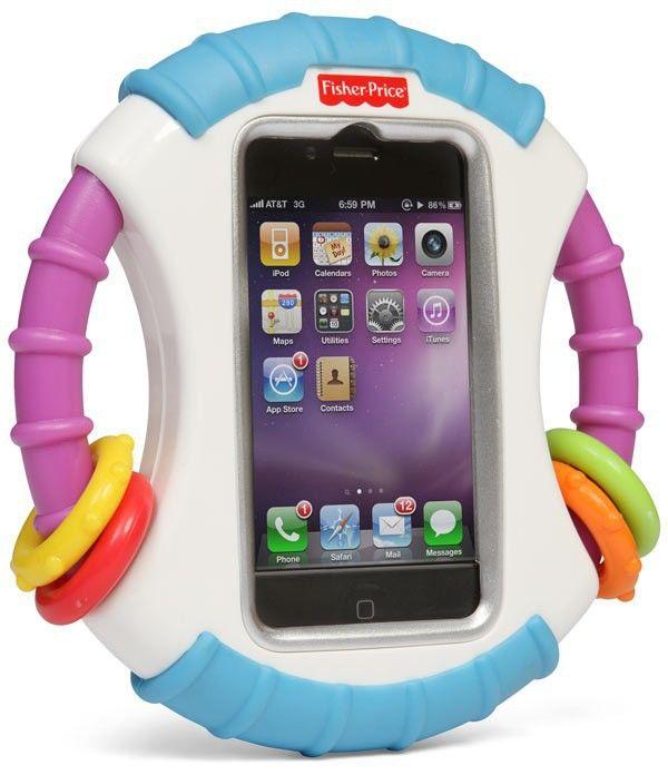Kierownica na iPhoneiPod dla dziecka