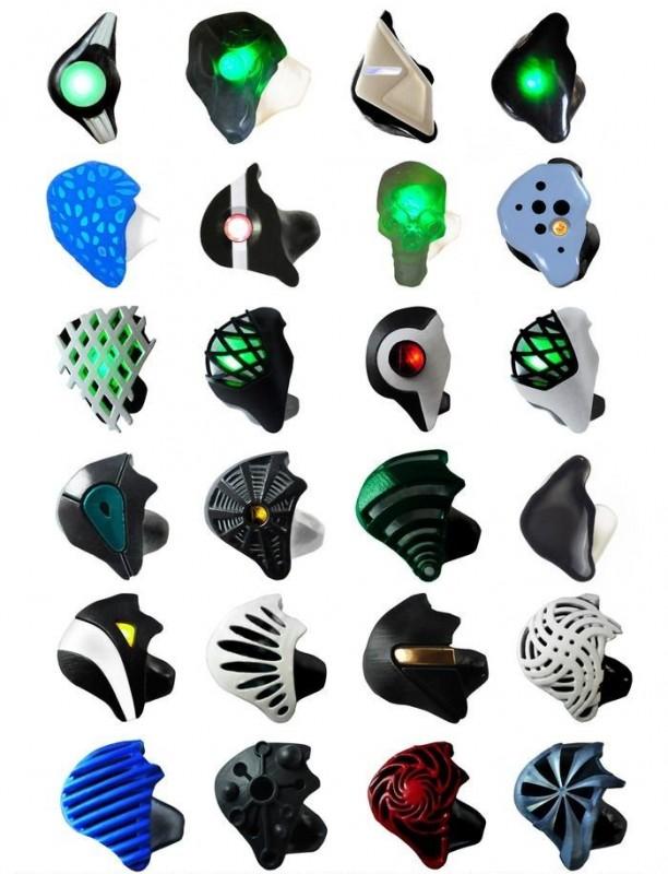 kształty słuchawek