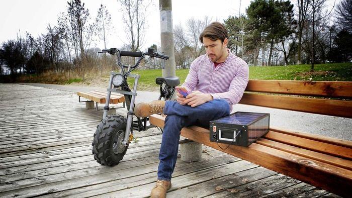 rower z akumulatorem