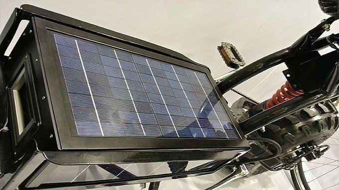 rowr na baterię słoneczną