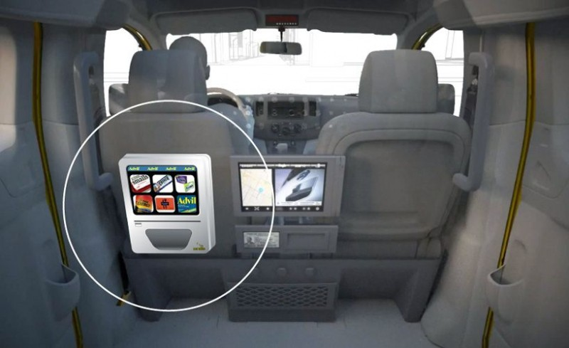 taxi panel z automatem