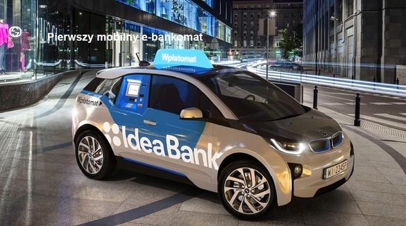 mobilny bankomat podjedzie na telefon