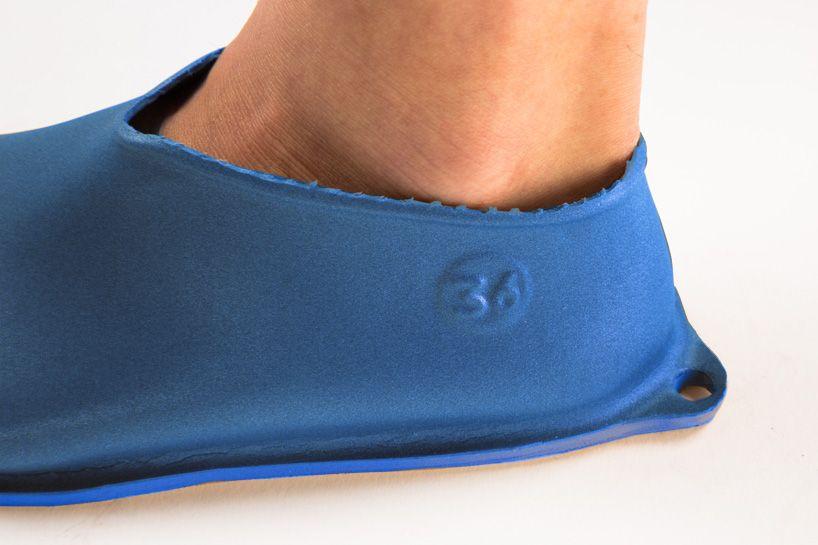 prosta konstrukcja buta z gumy