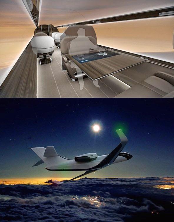 efekt prześroczystego samolotu