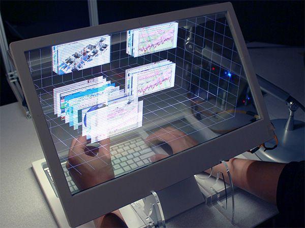 komputer przestrzenną obsługą w 3d