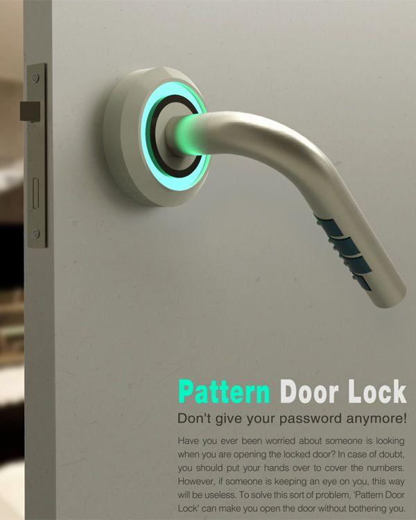 otwieranie dla osób niewidomych w drzwiach