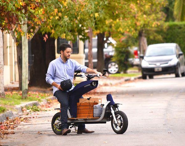 transporter motocyklowy do przewozu towarów