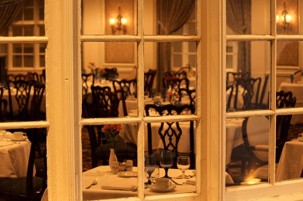 restauracja i kamery