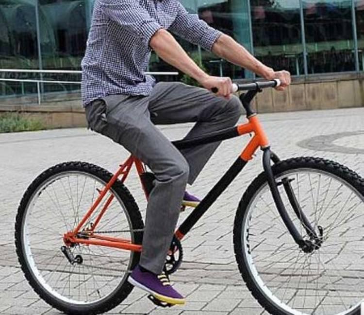 łamana rama roweru