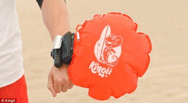poduszka z powietrzem dla bezpieczeństwa w wodzie