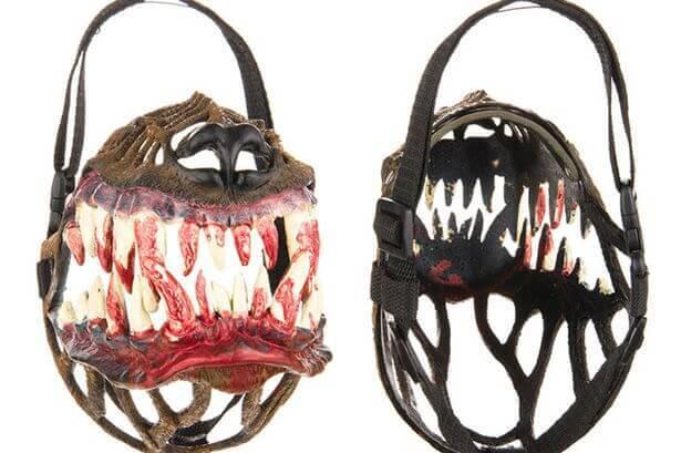 kaganiec z zębami dla psa