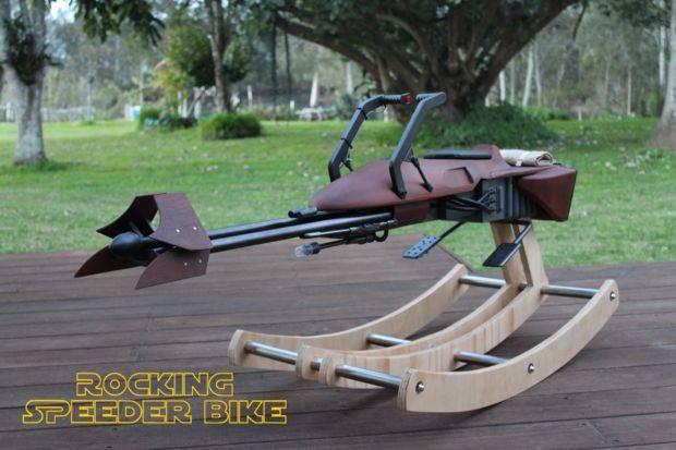 latający bike ze star wars