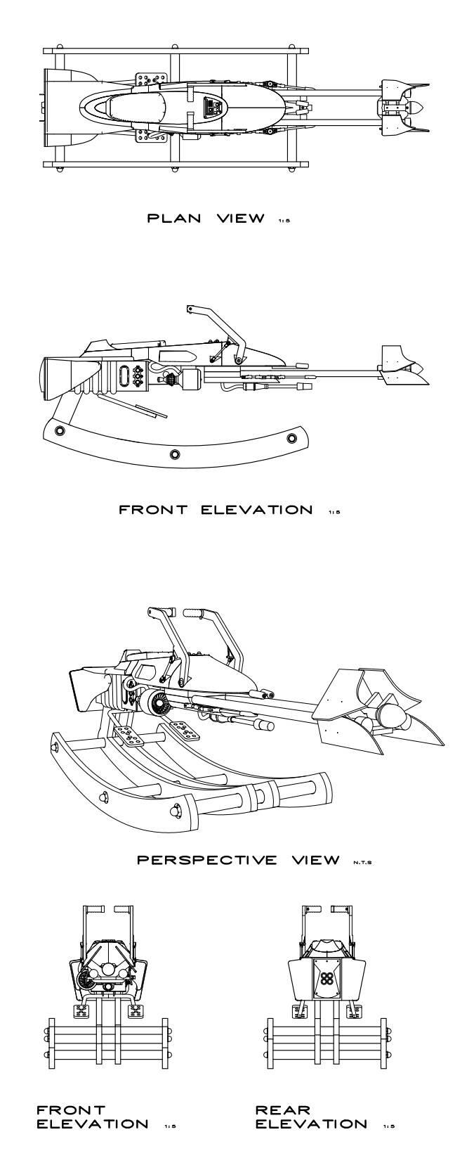 szturmowiec z gwiezdnych wojen na biegunach dla dzieci