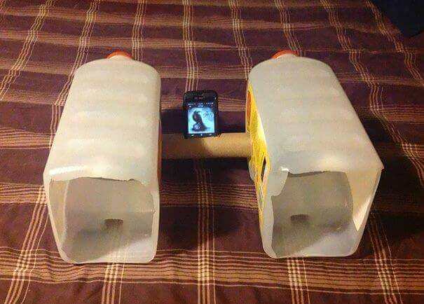 glosniki z butelek dla smartfona