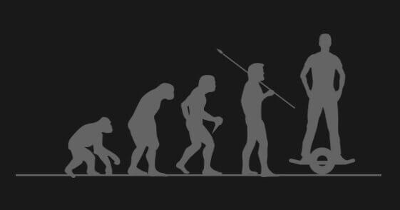poziomy ewolucji poruszania