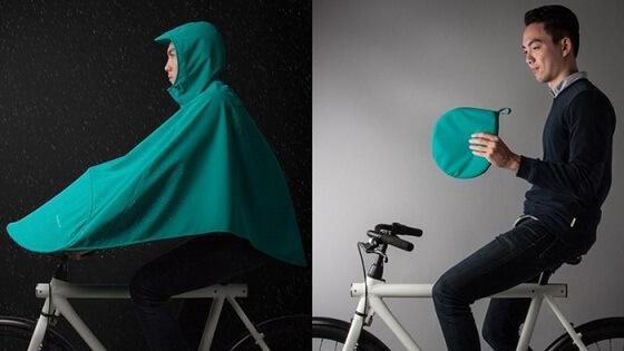 boncho rowerowy ochronny plaszcz